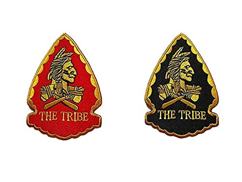 2 Pieces US Seal Team 6 Squadron The Tribe DEVGRU Embroidered Decorative Patch (color3)