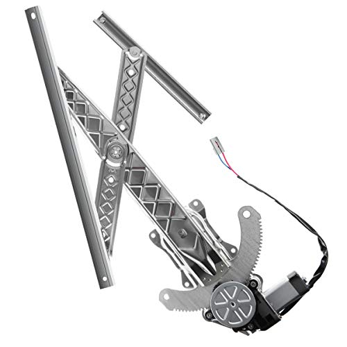 A-Premium Power Window Regulator and Motor Assembly Replacement for Ford F-150 F-250 1997-1998 Front Left Driver Side