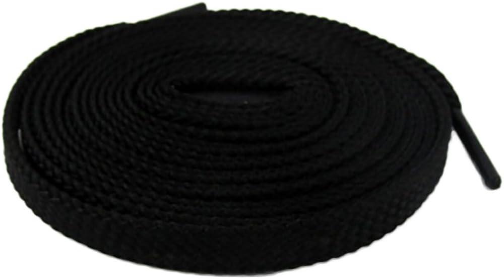Gift4ES 2 Par Extra Pack Thin Flat vestido cordones de 8 mm Colores Amplia s/ólidos 140cm longitudes para las zapatillas de deporte y zapatos