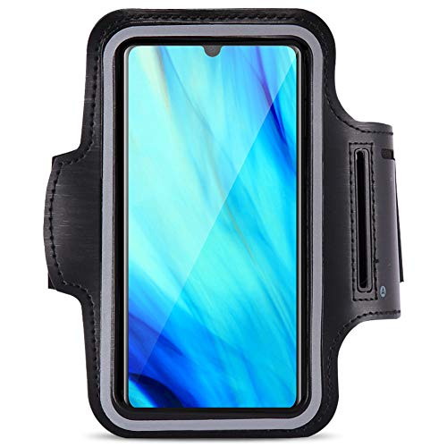 Jogging Tasche kompatibel für Huawei P30 Pro Handy Hülle Sport Lauf Armband Fitnesstasche