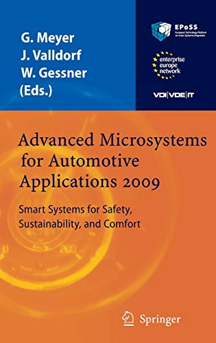 Advanced Microsystems for Automotive Applications 2009: Smart Systems for Safety, Sustainability, and Comfort (VDI-Buch)