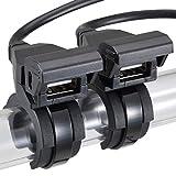デイトナ バイク専用電源 USBx2 USB2口合計5V/2.1A (1口最大5V/2.1A) 93040