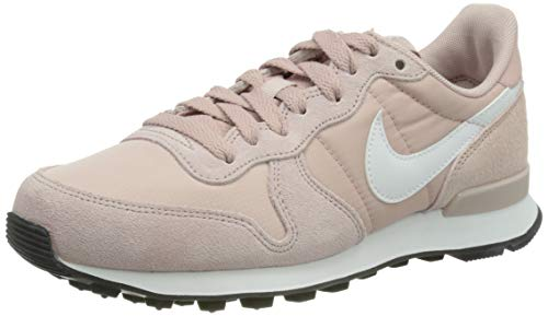 Nike Wmns Internationalist, Zapatillas para Correr Mujer, Champagne White Black, 36 EU