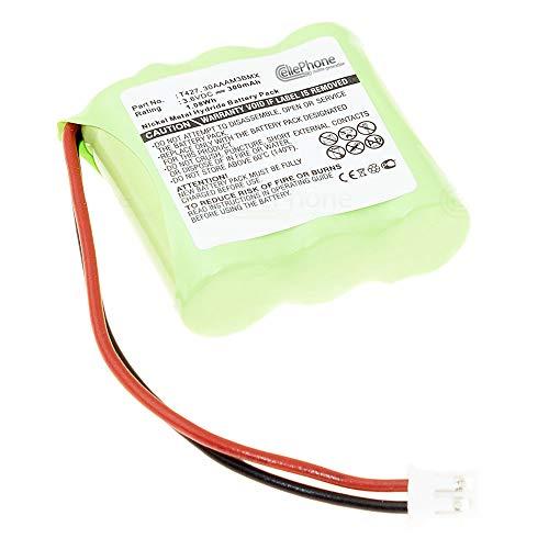 cellePhone Batterie Ni-MH Compatible avec Binatone E3300 Quad/Doro 8075 8085 / Panafone KX-T991DL (Remplacement pour T427)