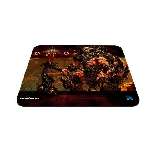 Mouse pad para jogos SteelSeries QcK Diablo III – Edição Bárbara
