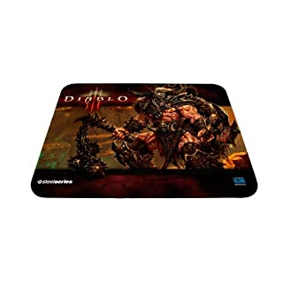 SteelSeries QcK Diablo III Gaming Mouse Pad - Barbarian Edition (B005L38SGE) | Amazon price tracker / tracking, Amazon price history charts, Amazon price watches, Amazon price drop alerts