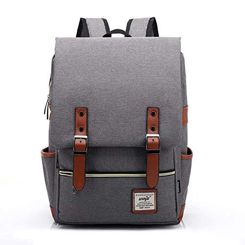 SPFTOY Rucksack Herren, Laptop Rucksack, Edwardian Arbeitstaschen Arbeit, Männer. Schule oder Uni Notebook.-16 inch