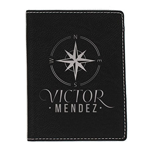 Custom Passport Case - Engraved Travel Gifts for Men Women Him Her - Personalized for Free