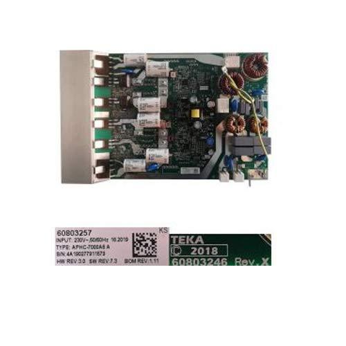 Desconocido Módulo Electrónico 60803257, 60803246 Rev.X, Teka IZ 6315 VR01