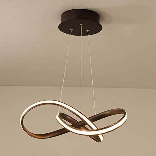 Lampara de arana LED, lampara Colgante con Control Remoto Regulable en Altura Lampara de Mesa de Comedor Lampara de Techo Lampara Colgante Creativa Moderna para Sala de Estar