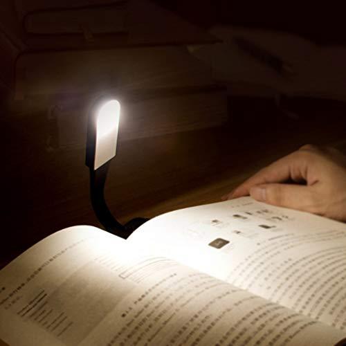 Veilleuses Veilleuse lumière de lecture-USB charge LED lumière-creative led livre lumière lampe étudiant dortoir USB protection des yeux lampe de table lecture lumière tactile stepless gradation Night
