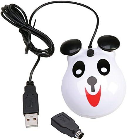 Califone KM-PA Panda-Themed Optical Computer co Mice Selling rankings 5 ☆ very popular Reinforced