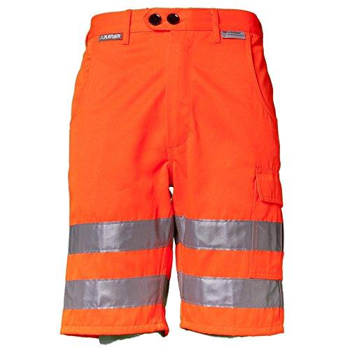 Planam Planam Warnschutz Shorts, Arbeitshose 3XL Orange
