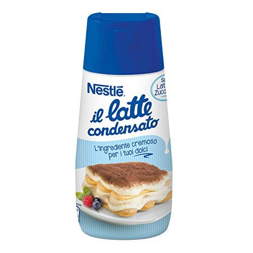 Nestlé il Latte Condensato Latte Intero Concentrato Zuccherato Ideale per Ricette Dolci Tubo, 450g