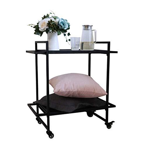 table basse table basse Nordic Iron art/verre trempé Simplicité moderne Salon de loisirs balcon Côté