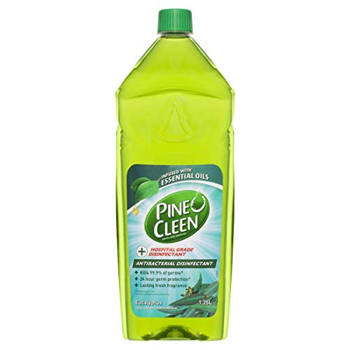Pine O Cleen Antibacterial Disinfectant Liquid, 1.25L, Eucalyptus