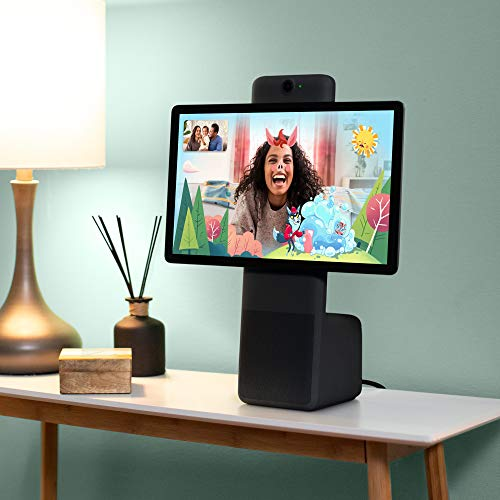 """Product Image 4: Facebook Portal Plus – Smart Video Calling 15.6"""" Touch Screen Display with Alexa – Black"""