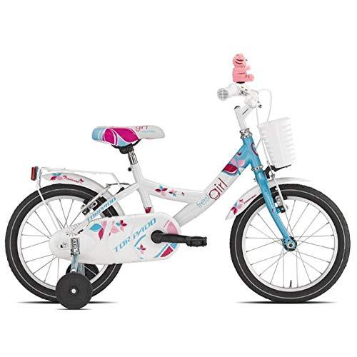 TORPADO Bici Bambina TRILLY Azzurro 16