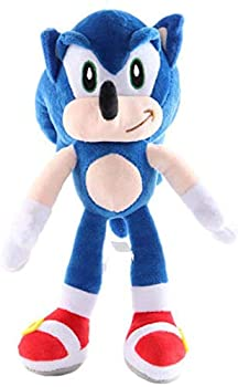 Sonic Plush 11  Sonic Hedgehog Toy Sonic The Hedgehog Plush Figure,Sonic Cute Doll…