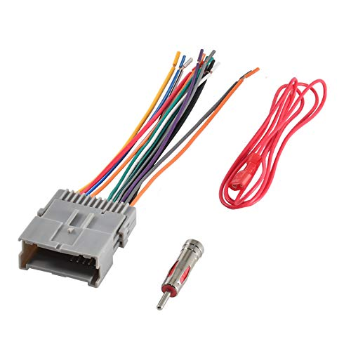 03 gmc yukon stereo wire harness - 6