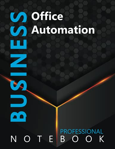 """Compare Textbook Prices for Business, Office Automation Ruled Notebook, Professional notebook, Journal for Business & Economics Professional, Large 8.5"""" x 11"""" size, 108 pages, Glossy cover  ISBN 9798490777687 by Cre8tive Press"""