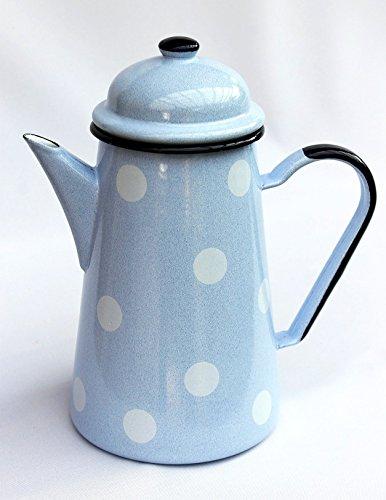 Koffiekan Nr.578TB geëmailleerd 22 cm 1,3 L waterkan pot gieter email