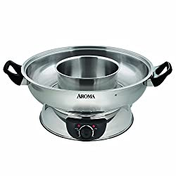 Aroma Stainless Steel Hot Pot