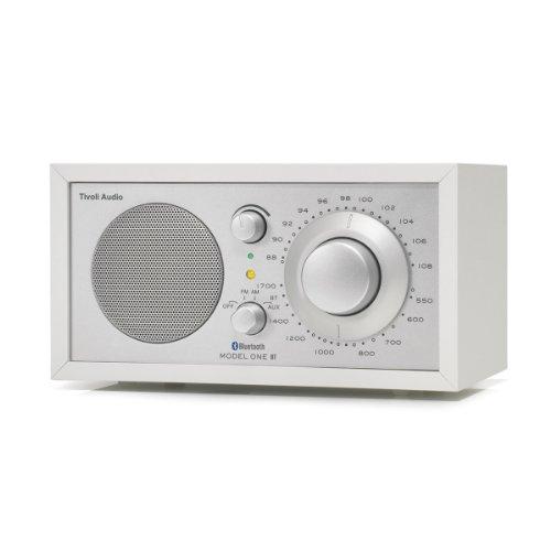 Tivoli Audio Model One BT (AM/FM Radio mit Bluetooth) weiss/silber