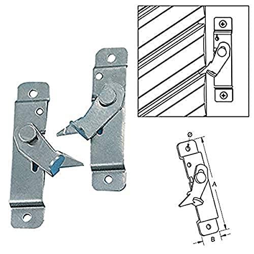Bloccatapparelle lateral galvanizado Bolis Italia par derecha y izquierda anti Soporte