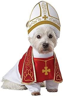 unbrand Holy Pope Hound Dog Pet Costume