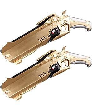 Arsimus 12 inch Video Game Foam Hero Grim Reaper Shotgun  Gold   2pcs