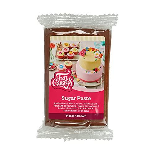 FunCakes Pasta de Azúcar Marrón 250 g