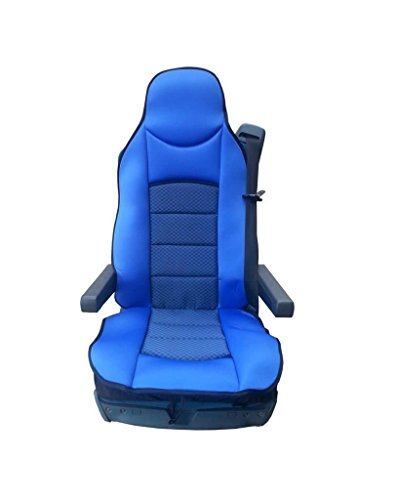 1x vrachtwagenstoelbekleding blauw stoelbekleding stoelhoezen nieuw in originele verpakking hoogwaardig polyester