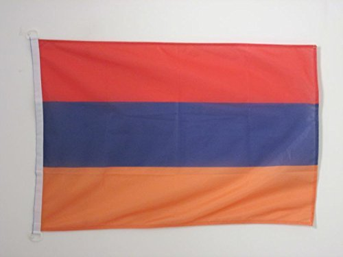 AZ FLAG Flagge ARMENIEN 90x60cm - ARMENISCHE Fahne 60 x 90 cm Aussenverwendung - flaggen Top Qualität