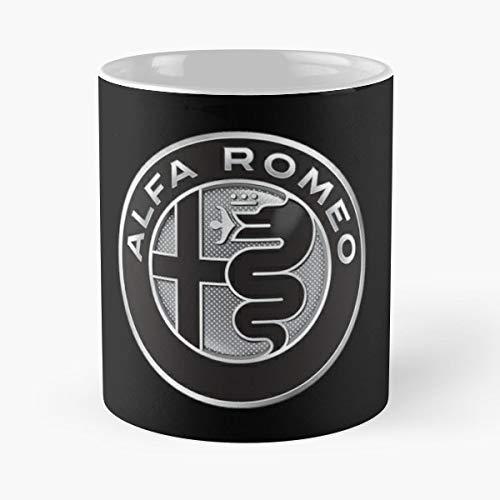 5TheWay Mug Alfa Romeo Standardkaffee 11 Unzen Geschenk Tassen für alle