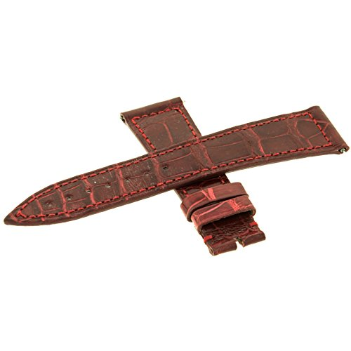 Franck Muller ms B07 20 – 16 mm in vera pelle rosso Watch Band