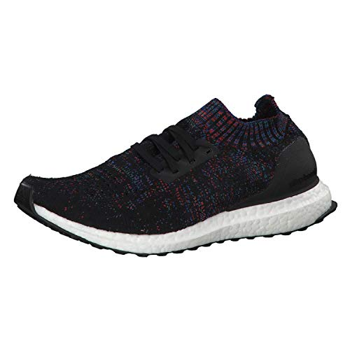 adidas Ultraboost Uncaged, Scarpe Running Uomo, Nero (Core Black/Active Red/Blue Core Black/Active Red/Blue), 43 1/3 EU