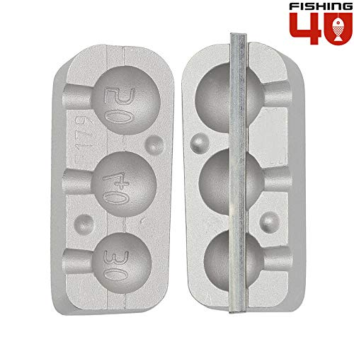 Cheburashka peso molde _ sistema para anzuelos con cabeza y Predator Jigs