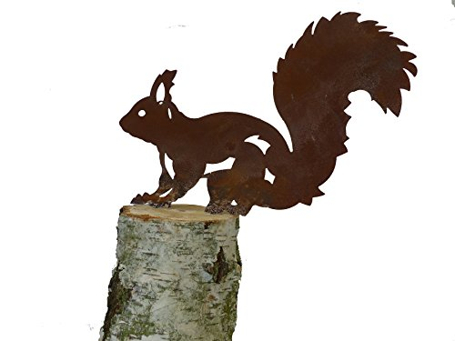 ARTTEC Design Eichhörnchen (groß, Rost)