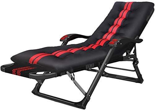 LZMXMYS Silla de salón al aire libre, Patio Tumbona reclinable Silla Silla de oficina transpirable reclinables silla plegable silla de Pausa for el almuerzo Siesta silla perezosa sillón silla conforta