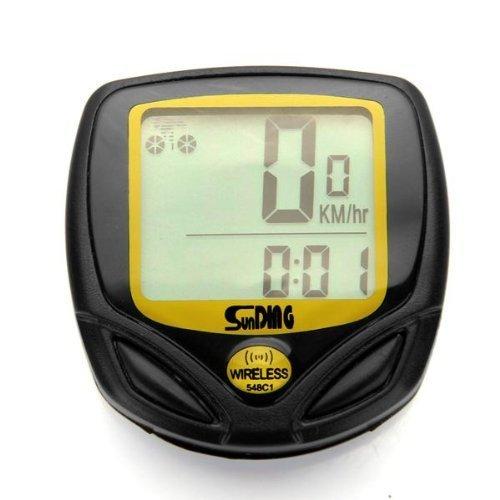 iEpoch Ordinateur de vélo sans Fil Multifonctions avec Compteur kilométrique et indicateur de Vitesse Intelligent