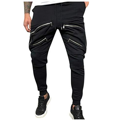 Preisvergleich Produktbild serliy Herren Jogginghose / Trainingshose für Sport Fitness Gym Training Slim Fit Sweatpants Streifen Sweatpants Jogging-Hose Stripe Pants M - 3XL