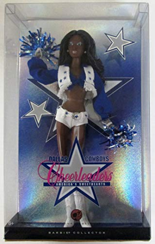 Dallas Cowboys Cheerleader African American Collectable Barbie Fashion Doll