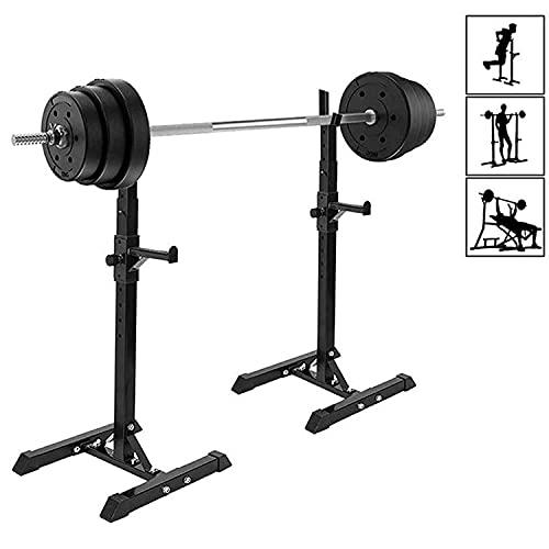 ybaymy Squat Rack - Supporto per bilanciere, portata massima 200 kg, colore:...