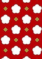igsticker ポスター ウォールステッカー シール式ステッカー 飾り 841×1189㎜ A0 写真 フォト 壁 インテリア おしゃれ 剥がせる wall sticker poster 010358 和風 和柄 フラワー