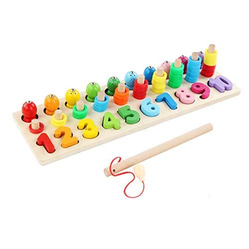 Sipobuy Montessori Matemáticas Clasificación Apilamiento