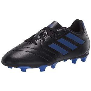 adidas baby boys Goletto Vii Fg J Football Shoe, Core Black/Team Royal Blue/Team Royal Blue, 13.5 Little Kid US