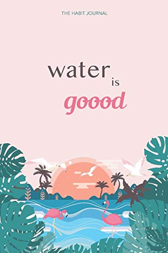 Check Out This Water Is Goood: the hydration journal to reach your water drinking goals (6x9, 90 day...
