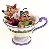 Enesco Disney Tradiciones por Jim Shore Jaq y Gus de Cenicienta Figura de Taza de té té para Dos (40...