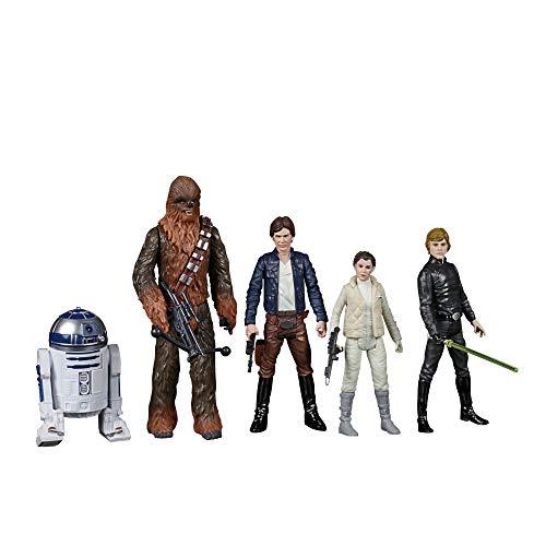 Hasbro Star Wars Celebrate The Saga Spielzeuge Rebellenallianz Figuren Set, 9,5 cm große Figuren zum Sammeln 5er-Pack, für Kids ab 4 Jahren